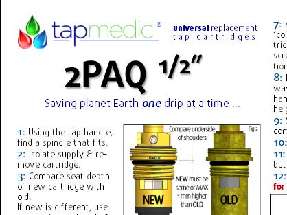 2PAQ - a pair of 1/2